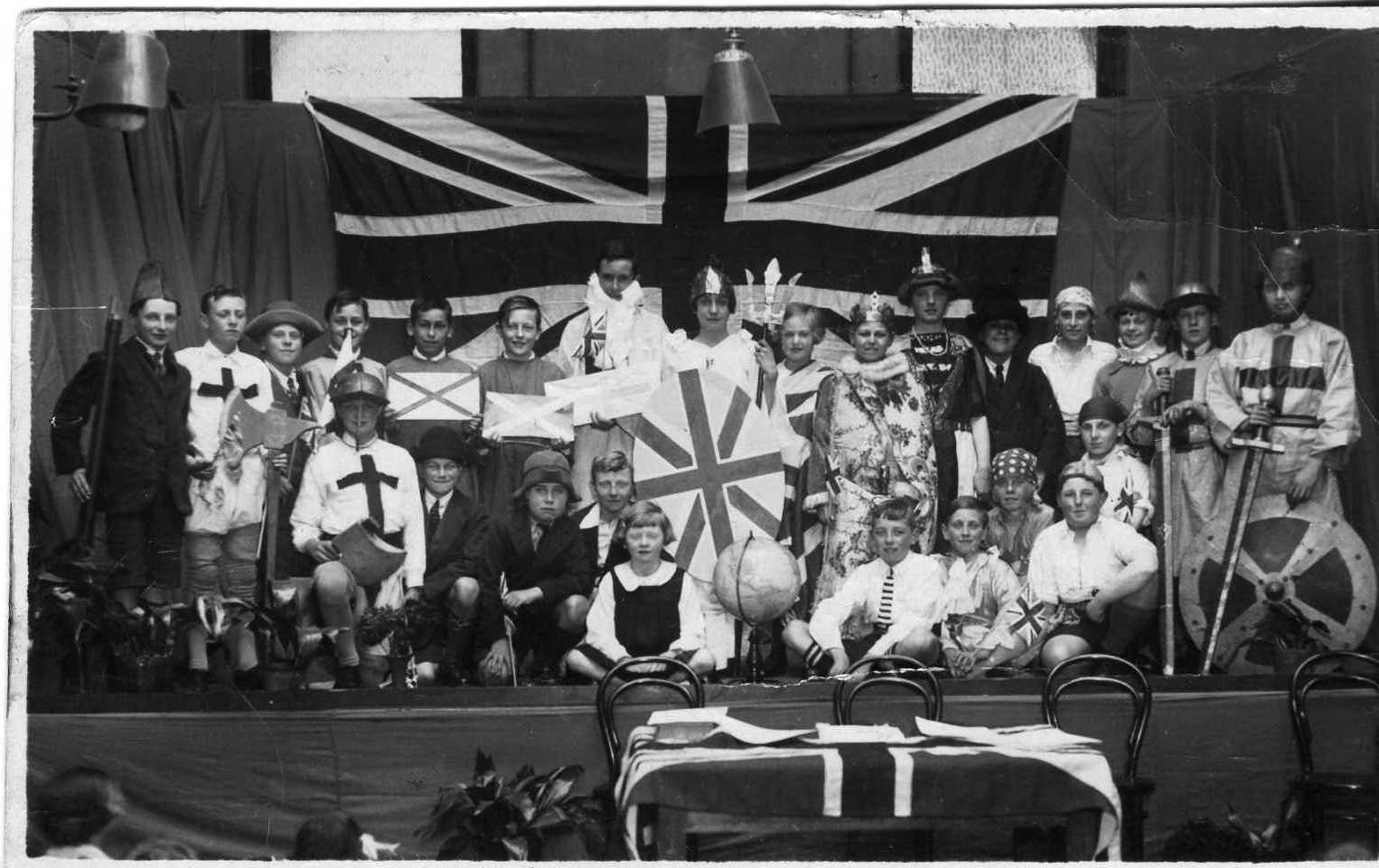 1929 School Play The Empire